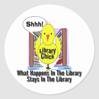 What Happens In The Library... Sticker