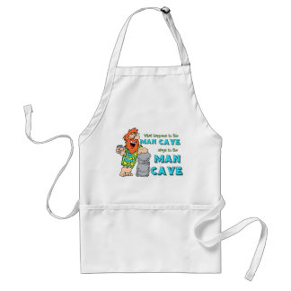 What Happens In The Man Cave Stays In The Man Cave Standard Apron
