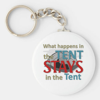 What happens in the tent key ring