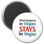 What happens in Vegas Magnets