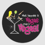 What Happens in Vegas stays in Vegas! Sticker
