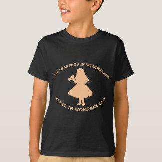 What Happens In Wonderland Stays In Wonderland T-Shirt