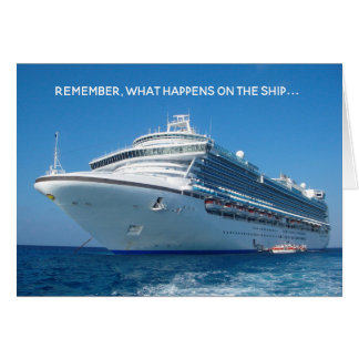 What Happens On Cruise Ship Stays on Facebook Card