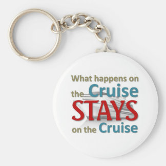 What happens on the cruise basic round button key ring