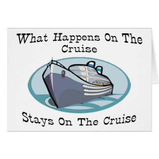 What Happens On The Cruise Card
