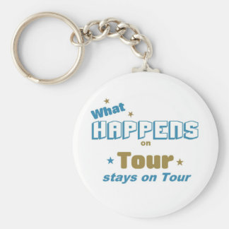 What happens on Tour Key Ring
