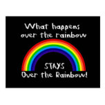 What Happens Over The Rainbow... Postcard
