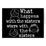 What Happens with the Sisters Greeting Cards