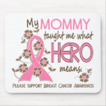 What Hero Means Breast Cancer Mummy Mousepad