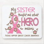 What Hero Means Breast Cancer Sister Mouse Pad