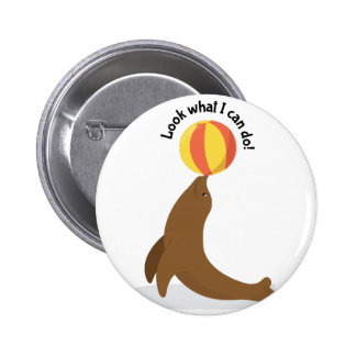 What I Can Do 6 Cm Round Badge