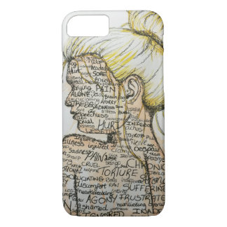 'What I feel' iPhone 7 Case