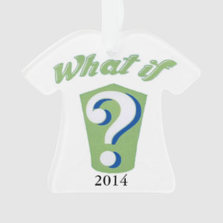 What If? 2014 West Genesee Marching Band ornament