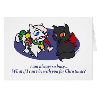 What if I am busy for Xmas? Card