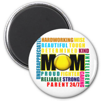 What is a Softball Mom copy.png Magnet