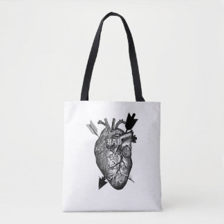 What Is Bad For Your Heart Is Good For Your Art Tote Bag