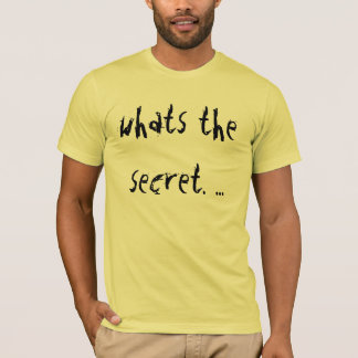 What is concealed T-Shirt
