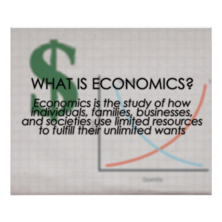 What is Economics UPDATED Posters