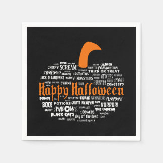 What Is Halloween? Halloween Party Paper Napkins Disposable Serviette