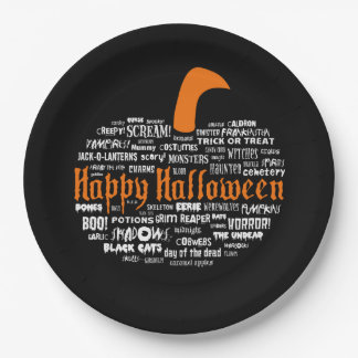 What Is Halloween? Halloween Party Paper Plates