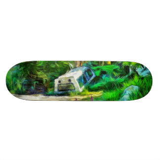 What is out of place 18.1 cm old school skateboard deck