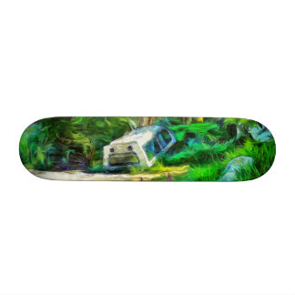 What is out of place 19.7 cm skateboard deck