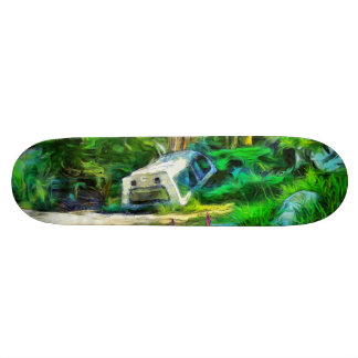 What is out of place 21.6 cm skateboard deck