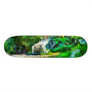 What is out of place skate board