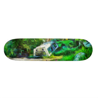 What is out of place skate board deck