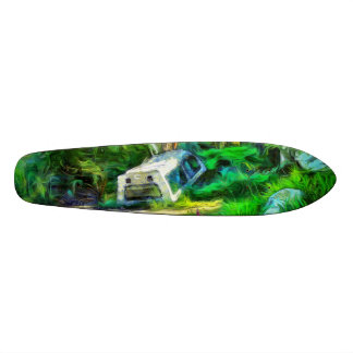 What is out of place skateboard deck