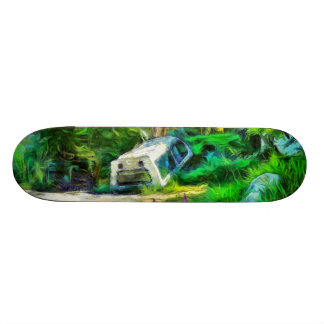 What is out of place skateboard decks