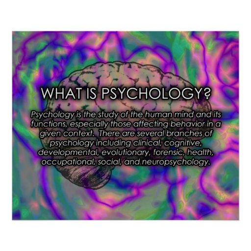 What is Psychology? Poster *UPDATED*
