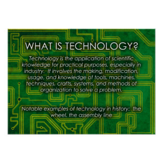 What is Technology? Poster