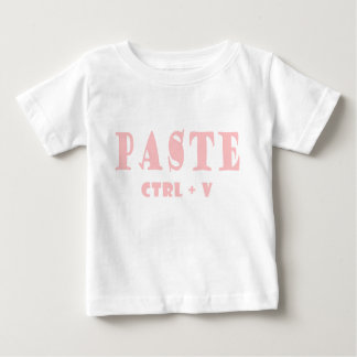 What is the shortcut for paste baby T-Shirt