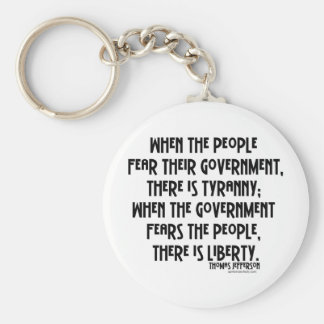 What is Tyranny Keychains