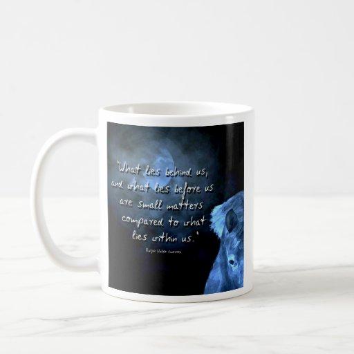 what lies behind us  ... mug