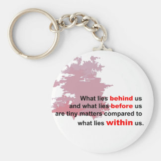 what lies within basic round button key ring