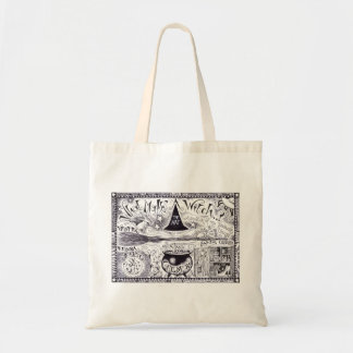 What makes a witch tote bag.