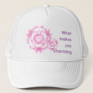 What makes you charming. trucker hat