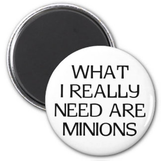 What Minions 6 Cm Round Magnet