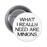 What Minions Pinback Buttons
