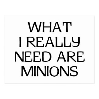What Minions Postcard