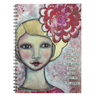 What others think about me spiral notebook