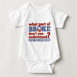 What Part of BROKE Don't You Understand? T-shirt