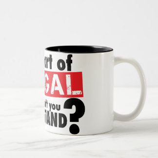 What Part of Illegal Don't You Understand Mug