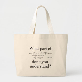 What part of... large tote bag