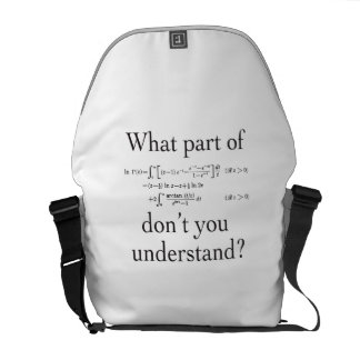 What Part of... Messenger Bags