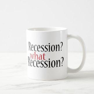 What Recession? Basic White Mug