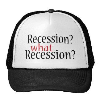 What Recession Trucker Hat