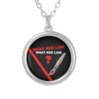 What red line What red line Necklace